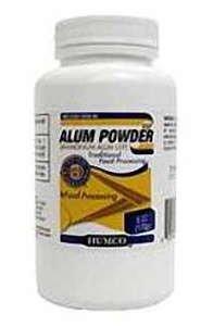 Humco Alum Powder 6oz powder