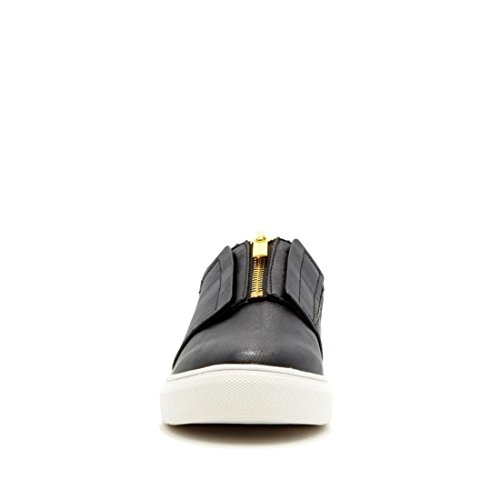 Sneaker Slip-on Chic Iman Sfilata Chic 565-391 Nero