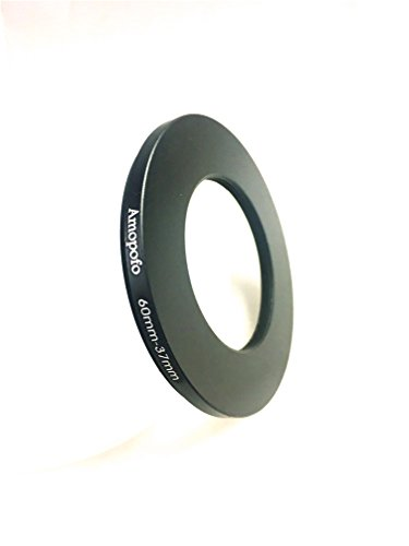 Universal 60-37mm /60mm to 37mm Step-Down Ring Filter Adapter for UV,ND,CPL,Metal Step-Down Ring Adapter