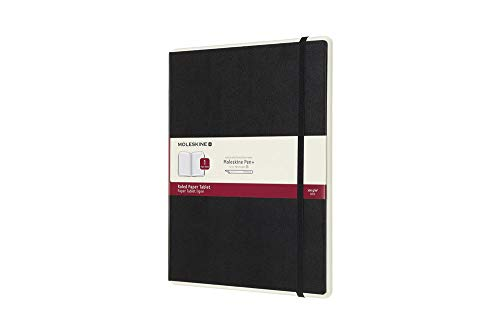 Moleskine Paper Tablet Hard Cover Smart Notebook, Ruled, XL (7.5