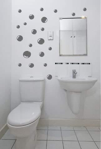 Amazon.de: Set mit 21 Blasen Badezimmer Fliesen Wand Sticker ...