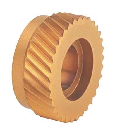 Knurl Wheel, SW2, RH DIAG, 1/2 OD, 30 TPI by DORIAN