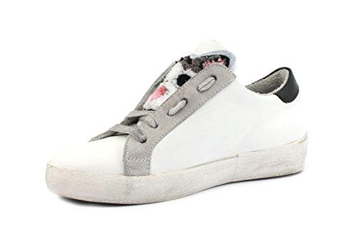 KU Galaxy Galaxy Ghiaccio Nero Velour 1900 Sneaker MELINE C Bianco UxgCZ1