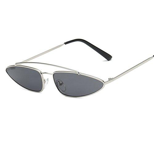 soleil soleil boîte de de Lunettes hommes tendance femmes d'oeil chat Europe personnalité petite cadre NIFG E lunettes qER6ZPwFxx