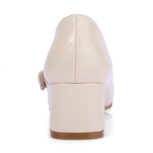 Apl10267 Sandales Beige Femme Compensées Balamasa AUdvwAqH