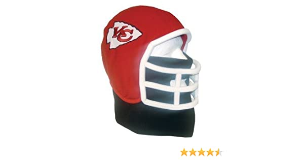 Amazon.com   Kansas City Chiefs NFL Ultimate Fan Fleece Helmet Beanie Hat  (Youth Medium)   Sports Fan Beanies   Sports   Outdoors 2b9e73efd