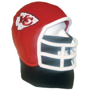 Image Unavailable. Image not available for. Color  Kansas City Chiefs NFL  Ultimate Fan Fleece Helmet Beanie ... a5748d9a0