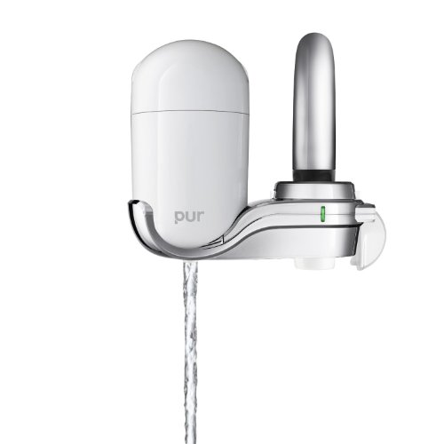 PUR FM-3400B 3-Stage Vertical Faucet Mount, (Ultimate 3 Stage Faucet Filter)