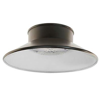FEIT S8.5CSFL/850/BZ 6000 Lumen 5000K LED Flood Light, 120-277V - BRONZE FINISH
