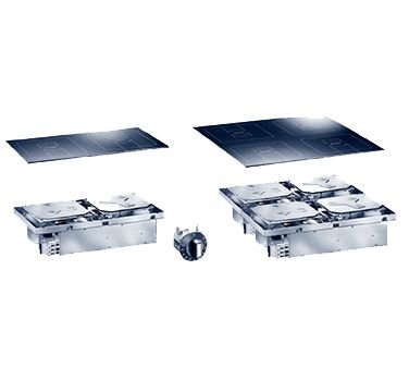 Garland SHDUCL10000555 Drop-In Induction Range with (1) 11.81