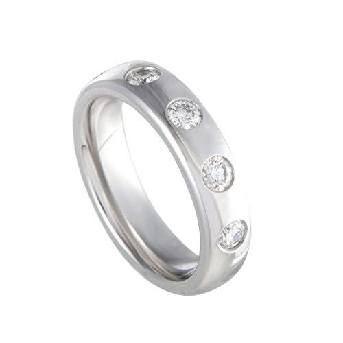 Chopard 18K White Gold Five Diamond Band Ring