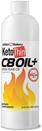 KetoThin C8Fuel (Capryic Triglycerides) 99% C8 Oil (16oz) (Ultra Pure)