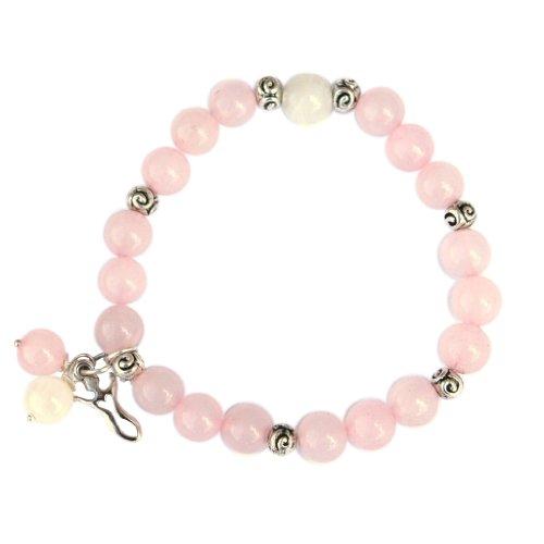 Rose Quartz Fertility Goddess Bracelet