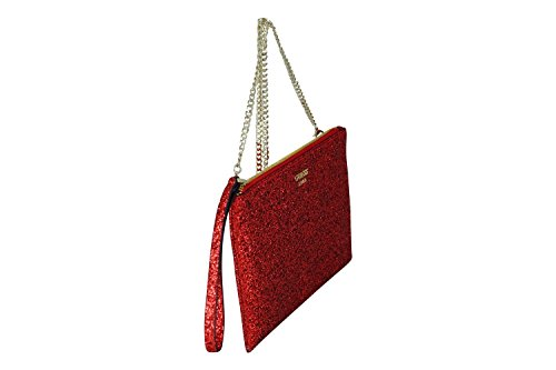 Guess pochette electric party xbody clutch red