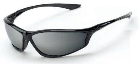 Crossfire 3463 KP6 Safety Glasses Silver Mirror Lens - Shiny