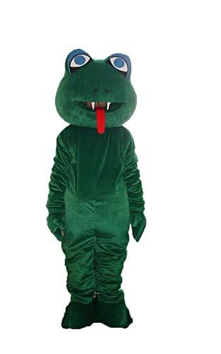 YUJUAN Animal Cartoon Snake Cosplay Mascot Costume Performance Prop (M(160-175CM)) -
