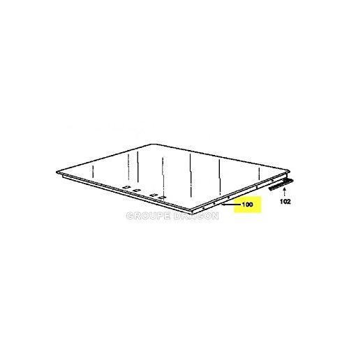 Brandt - Parte superior vidrio vitro-ceram para mesa de horno ...
