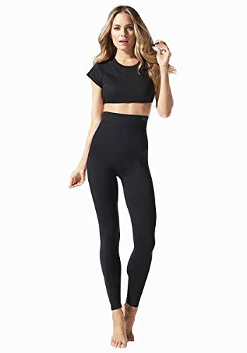 BLANQI Everyday Highwaist Postpartum + Nursing Support Leggings (Medium) Black