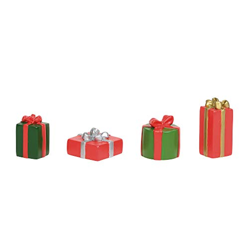 - Department 56 Village Collections Accessories Christmas Packages Figurines, 1