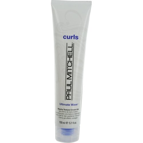 PAUL MITCHELL by Paul Mitchell CURLS ULTIMATE WAVE BEACHY TEXTURE CREAM-GEL 5... (Package of 5 )