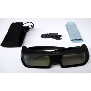 2 PACK IR Active 3D Shutter Glasses compatible with Sharp 3DTV EXCEPT 2014 945 , UQ and later models
