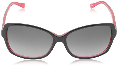 Kate Spade Womens Ailey Sunglasses Charcoal Pink Frame/Grey Gradient Lens