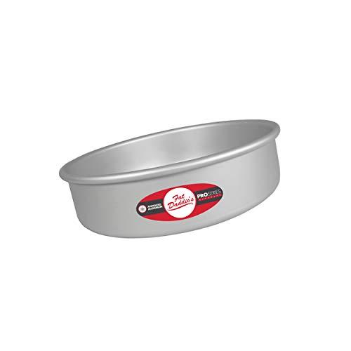 Fat Daddio's PRD-83 Round Cake Pan, 8 x 3 Inch, Silver