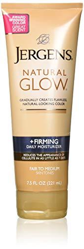 Jergens Natural Glow Firming Moisturizer, Fair to Medium Skin Tones 7.5 Ounces - 2 Pack