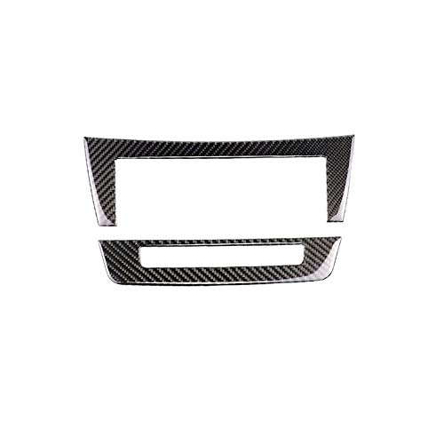 Ben-gi Carbon Fiber Cup Holder Panel Covers Replacement For Mercedes W204 2007-2013 W212 2010-2012 C Class E Class