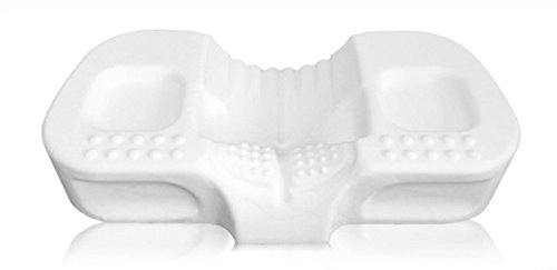 Kingform cervical contour pillow - memory foam chiropractic, hypoallergenic, orthopedic