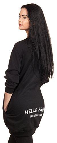 Loomiloo - Sudadera - para mujer negro