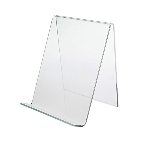 Display Softcover Book (Dazzling Displays 3-Pack of Clear Acrylic Book Easels)