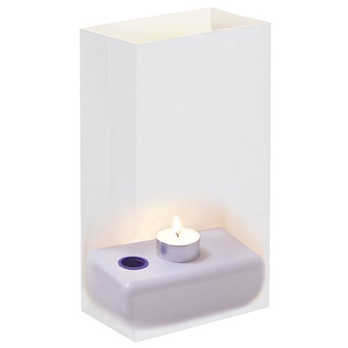 JH Specialties 110100 LumaBase Candleholder- 100 Ct