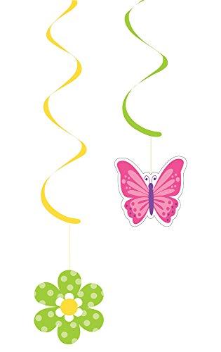 Creative Converting Butterflies Danglers Decoration