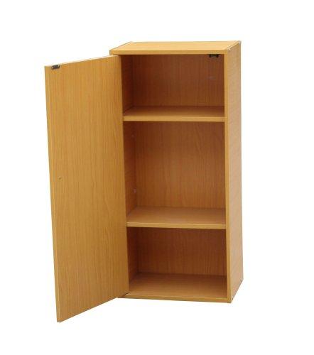 ORE International JW-193 Adjustable 3-Tier Book Shelf with Door by ORE
