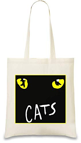 De Unique Use amp; Stylish Natural Logo Every Cats Soft Bag Eco Handbag usable Musical Re Tote For Day Shoulder friendly Chats Bags By Color Printed 100 Cotton Custom SOqHEfwqa