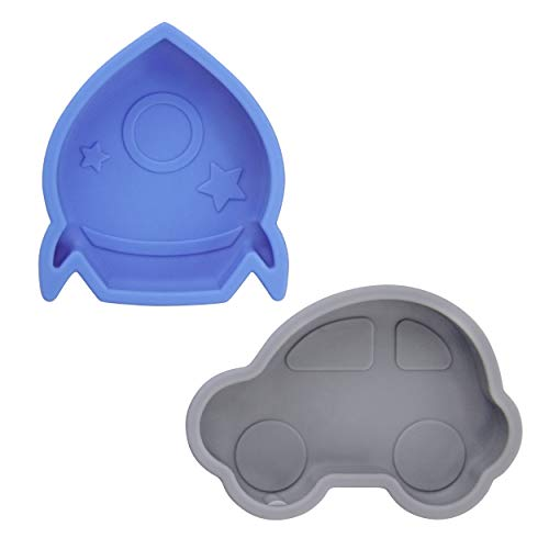 Kushies SiliDip Silicone Mini Bowl Azure/Pebble