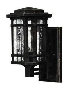 Hinkley 2246RB Transitional One Light Wall Mount from Tahoe collection in Bronze/Darkfinish,