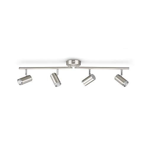 ESPIMAS bar/tube chrome 4×4.3W 230V