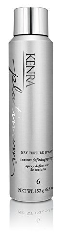 - Kenra Platinum Dry Texture Spray #6, 55% VOC, 5.3-Ounce