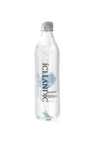 Icelandic Glacial Sparkling Water, 500 Milliliter, 24 Count