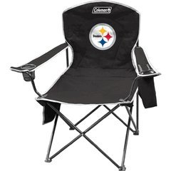 Coleman Pittsburgh Steelers NFL Cooler Quad Tailgate Chair COL-02771082111 (Col Quad)