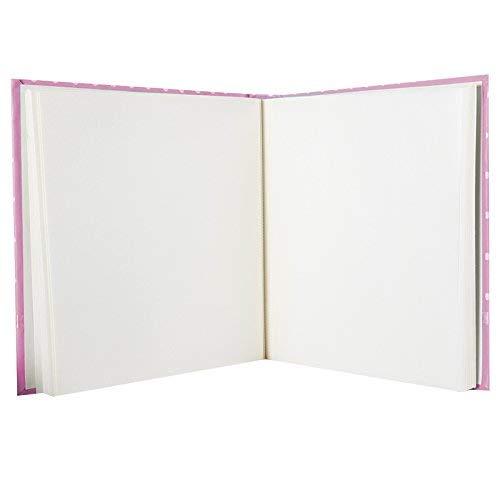 60/p/áginas blancas De nacimiento Memories rosa /álbum de fotos
