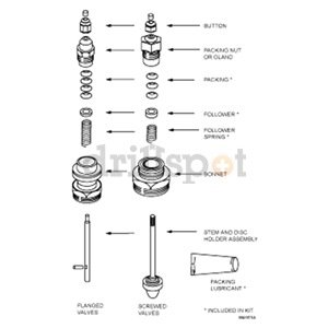 Honeywell 14003295-002 Valve Repack Kit 14003295002