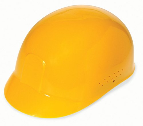 - Liberty DuraShell HDPE Bump Cap with 4 Point Pinlock Suspension, Yellow (Case of 6)