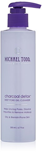 Michael Todd Charcoal Detox Deep Pore Gel Cleanser, 6.7 Fl Oz -
