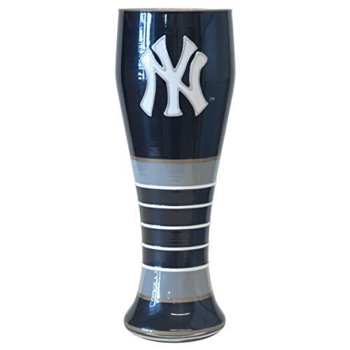 Boelter Brands MLB New York Yankees 23-Ounce Artisan Pilsner Glass ()