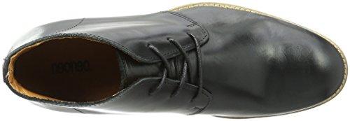 neoneo Brente - Botas de cuero natural paara hombre Schwarz (Black)
