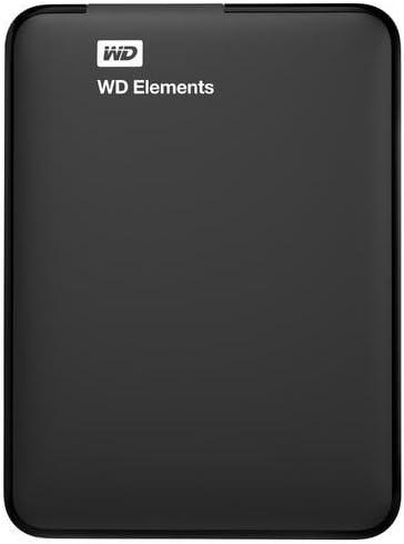 WD HDD ポータブルハードディスク 3TB WD Elements Portable WDBU6Y0030BBK-EESN USB3.0/3年保証