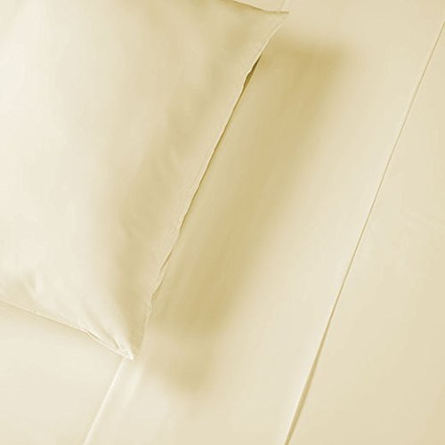 THOMAS LEE PerfectCale 100% US Grown Pima Cotton Queen Size Duvet Cover in Ivory by THOMAS LEE